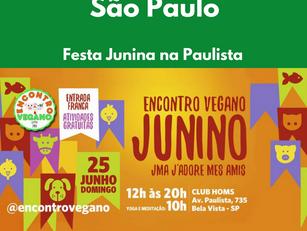 São Paulo: Festa Junina na Paulista