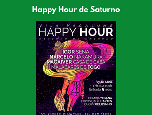 Manaus - Happy Hour de Saturno