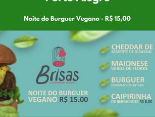 Noite do Burguer Vegano - R$ 15,00