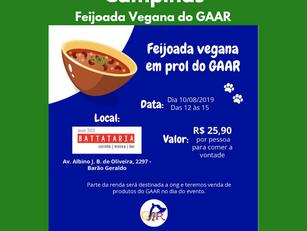 Campinas | Feijoada Vegana do GAAR
