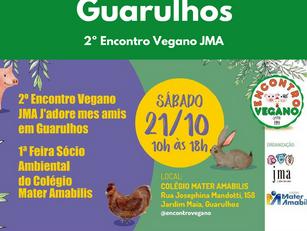 Guarulhos: 2º Encontro Vegano JMA