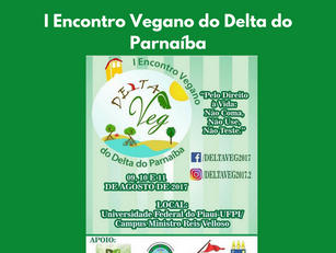 Parnaíba – I Encontro Vegano do Delta do Parnaíba