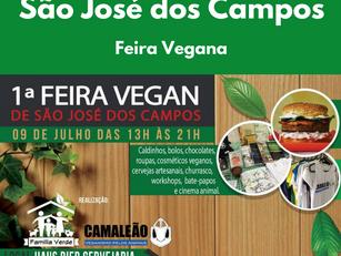 São José dos Campos: Feira Vegana