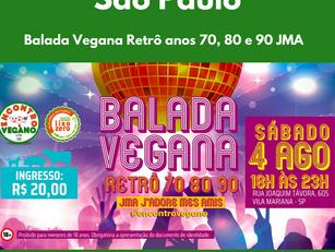 Balada Vegana Retrô anos 70, 80 e 90 JMA