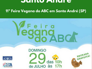 11ª Feira Vegana do ABC em Santo André (SP)