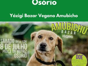 Osório: Yázigi Bazar Vegano Amubicho