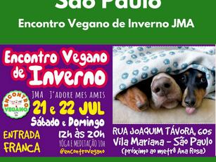 Encontro Vegano de Inverno JMA J'adore mes amis