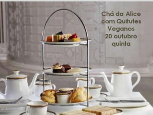 São Paulo: Chá da Alice com Quitutes Veganos