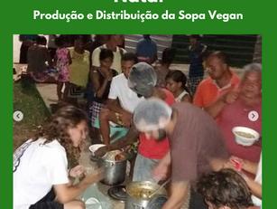 Natal | Produção e Distribuição da Sopa Vegan