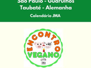 São Paulo - Guarulhos - Taubaté – Alemanha: calendário JMA