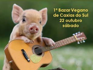 Caxias do Sul: 1ª Bazar Vegano de Caxias do Sul