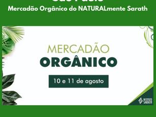 São Paulo | Mercadão Orgânico do NATURALmente Sarath
