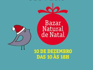 São Paulo: Bazar Natural de Natal
