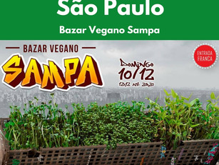 São Paulo: Bazar Vegano Sampa