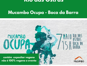 Rio das Ostras: Mucambo Ocupa - Boca da Barra