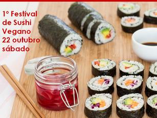 Porto Alegre: 1º Festival de Sushi Vegano