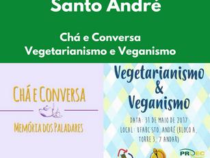 Santo André: Chá e Conversa - Vegetarianismo e Veganismo