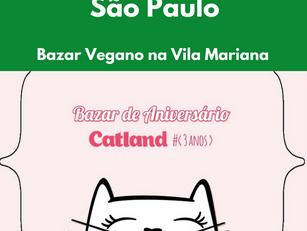 São Paulo: Bazar Vegano na Vila Mariana