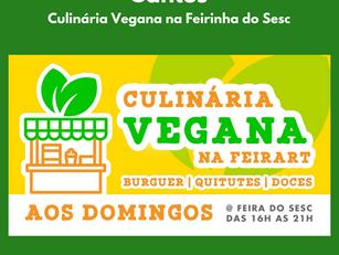 Santos | Culinária Vegana na Feirinha do Sesc