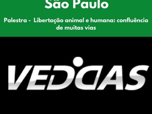 São Paulo: Palestra -  Libertação animal e humana: confluência de muitas vias