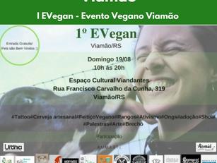 I EVegan - Evento Vegano Viamão