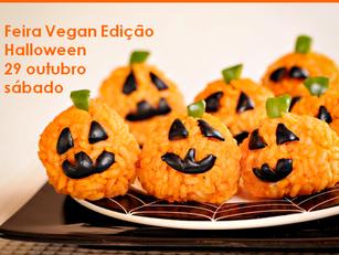 Campo Grande: Feira Vegan Edição Halloween
