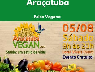 Araçatuba: Feira Vegana