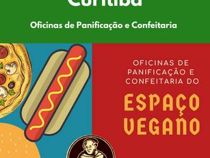 Oficinas de Panificação e Confeitaria do Espaço Vegano