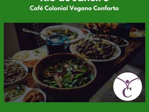 Rio de Janeiro | Café Colonial Vegano Conforto