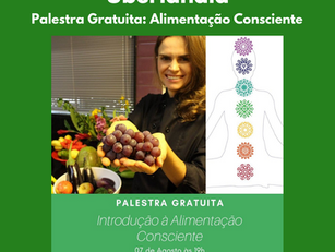 Uberlândia | Palestra Gratuita: Alimentação Consciente