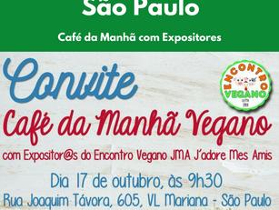 São Paulo: Café da Manhã com Expositores