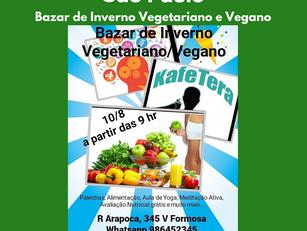 São Paulo | Bazar de Inverno Vegetariano e Vegano