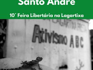 Santo André – 10° Feira Libertária na Lagartixa