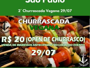 2° Churrascada Vegana 29/07