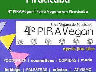 4º PIRAVegan | Feira Vegana em Piracicaba