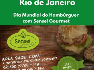 Rio de Janeiro: Dia Mundial do Hambúrguer - Sensei Gourmet