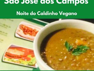 São José dos Campos - Noite do Caldinho Vegano