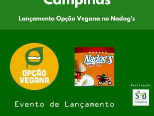 Lançamento Opção Vegana no Nadog's