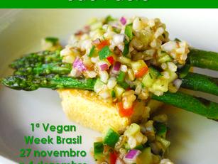 São Paulo: 1ª Vegan Week Brasil (Edição São Paulo)