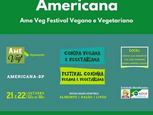 Americana: Ame Veg Festival Vegano e Vegetariano