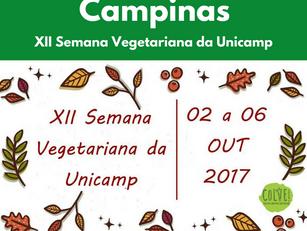 Campinas: XII Semana Vegetariana da Unicamp