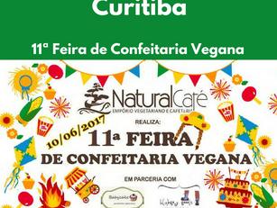 Curitiba: 11ª Feira de Confeitaria Vegana