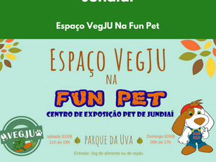 Espaço VegJU na Fun Pet