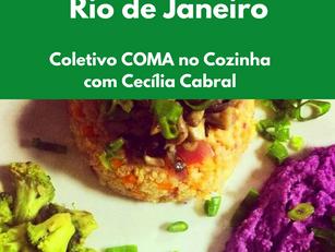 Rio de Janeiro: Coletivo COMA no Cozinha com Cecília Cabral