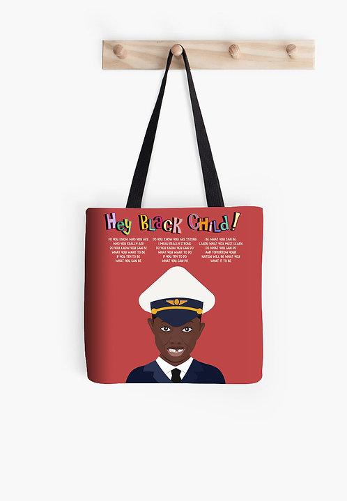 Hey Black Child! Boy Flight Attendant