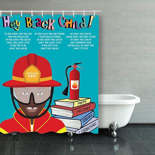 Hey Black Child: Boy Firefighter