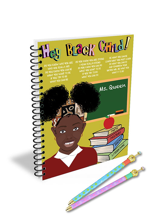 Hey Black Child! Female Teacher