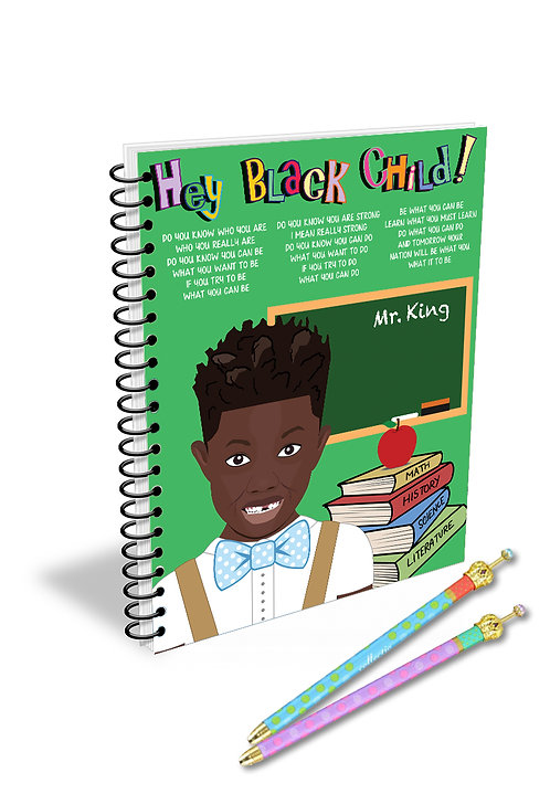 Hey Black Child! Male Teacher