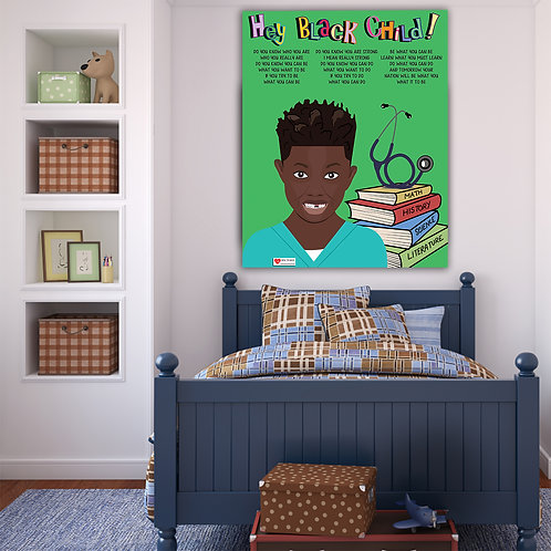 Hey! Black Child: Nurse/Doctor