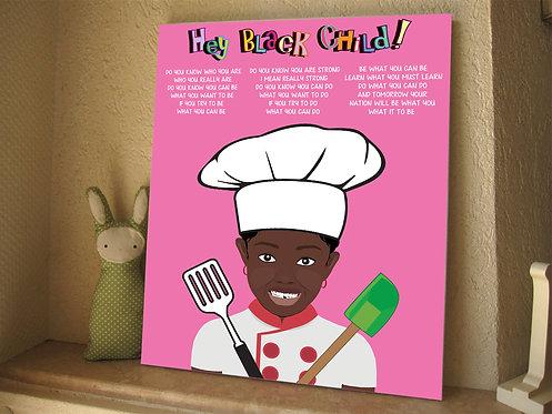 Hey! Black Child: Chef